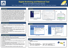 Digital Archiving and Retrieval Tool