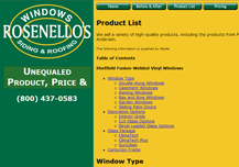 Rosenello's Windows, Siding, and Roofing
